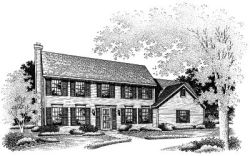 Colonial Style House Plans Plan: 15-484
