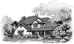 Country Style House Plans Plan: 15-485