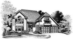 Contemporary Style House Plans Plan: 15-488