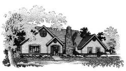 Ranch Style House Plans Plan: 15-497