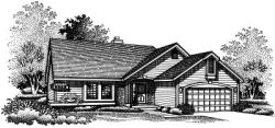 Ranch Style Floor Plans Plan: 15-503