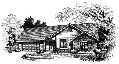 Ranch Style House Plans Plan: 15-505