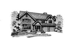 Contemporary Style House Plans Plan: 15-517