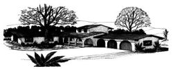 Southwest Style Home Design Plan: 15-529