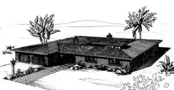 Contemporary Style House Plans Plan: 15-534