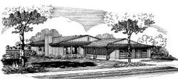 Ranch Style Floor Plans Plan: 15-583