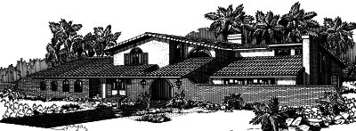 Southwest Style House Plans Plan: 15-585
