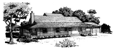 Ranch Style House Plans Plan: 15-592