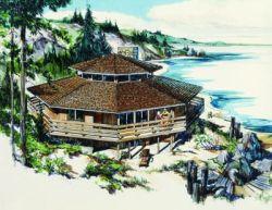 Coastal Style Floor Plans Plan: 15-612