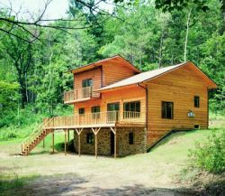Mountain-or-Rustic Style House Plans 15-622