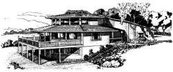 Contemporary Style Home Design Plan: 15-673