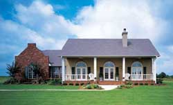 Southern Style Home Design 15-674