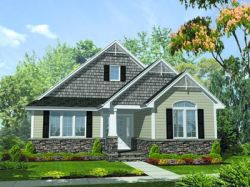 Traditional Style Home Design Plan: 15-696