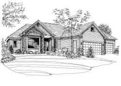 Traditional Style Floor Plans 15-714
