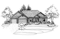 Traditional Style House Plans Plan: 15-715
