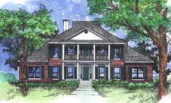 Plantation Style Home Design Plan: 15-728