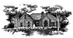 Traditional Style Home Design Plan: 15-752
