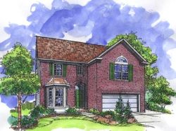Traditional Style House Plans Plan: 15-771