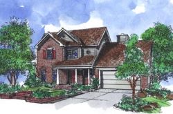Traditional Style Home Design Plan: 15-786