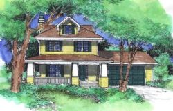 Craftsman Style Floor Plans Plan: 15-790