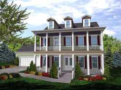 Southern-Colonial Style House Plans Plan: 15-795