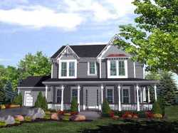 Southern Style Home Design Plan: 15-798