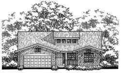 Craftsman Style Floor Plans Plan: 15-804