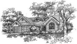 Traditional Style Floor Plans Plan: 15-805