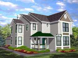 Country Style House Plans Plan: 15-824