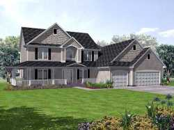 Traditional Style Home Design Plan: 15-872