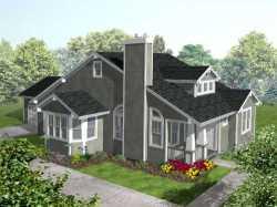 Craftsman Style Floor Plans Plan: 15-876