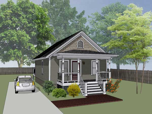 Bungalow Style Floor Plans Plan: 16-102