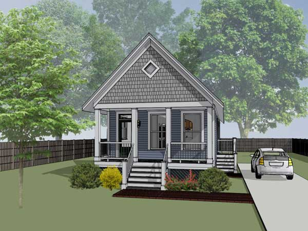 Coastal Style House Plans Plan: 16-103