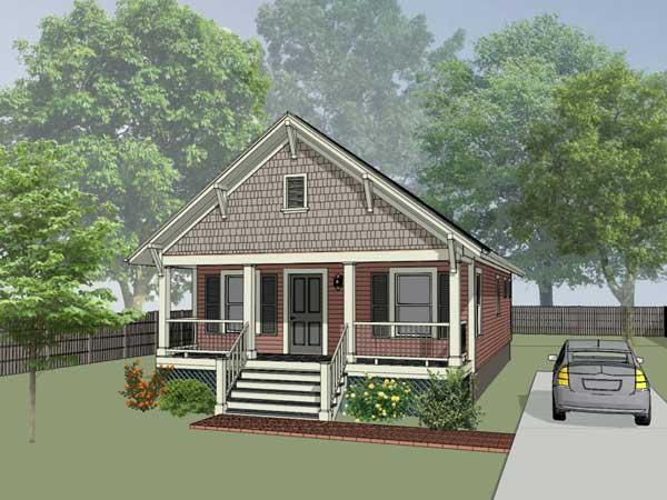 Bungalow Style House Plans Plan: 16-108