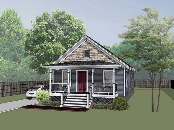 Bungalow Style House Plans Plan: 16-111