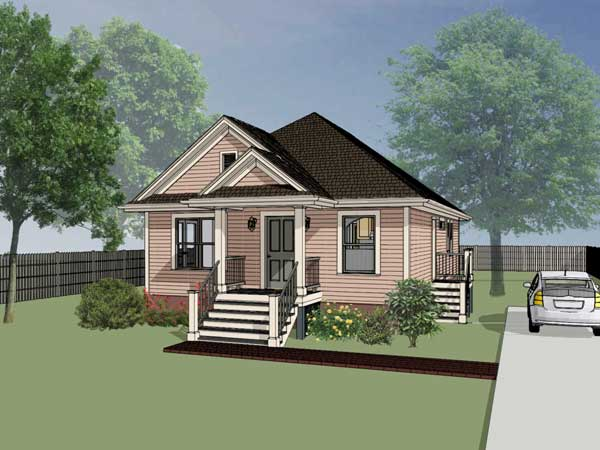 Bungalow Style House Plans Plan: 16-114