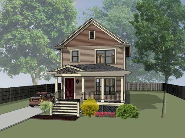 Cottage Style House Plans 16-120