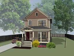 Cottage Style Floor Plans 16-120