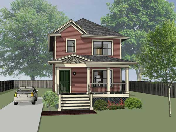 Southern Style House Plans Plan: 16-121