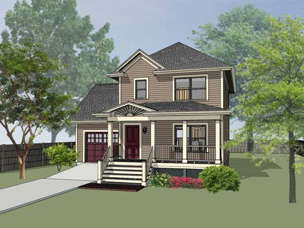 Country Style House Plans Plan: 16-123