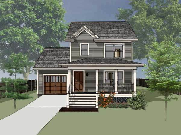 Country Style Floor Plans Plan: 16-124