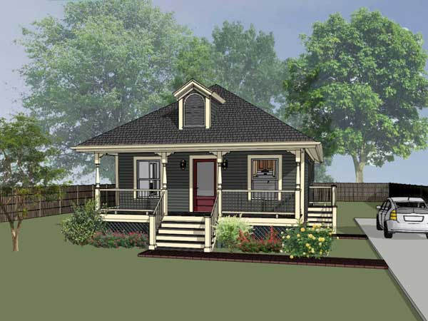 Country Style Home Design Plan: 16-126