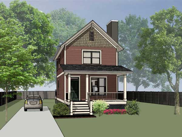 Southern Style House Plans Plan: 16-132