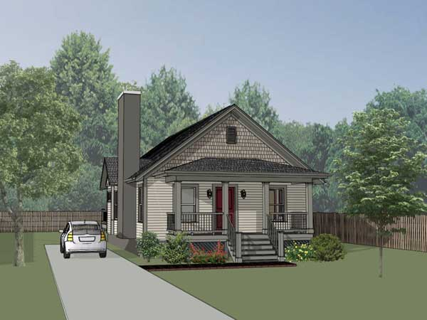 Cottage Style Floor Plans Plan: 16-133