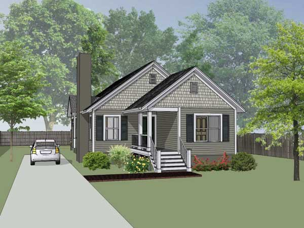 Traditional Style Home Design Plan: 16-134