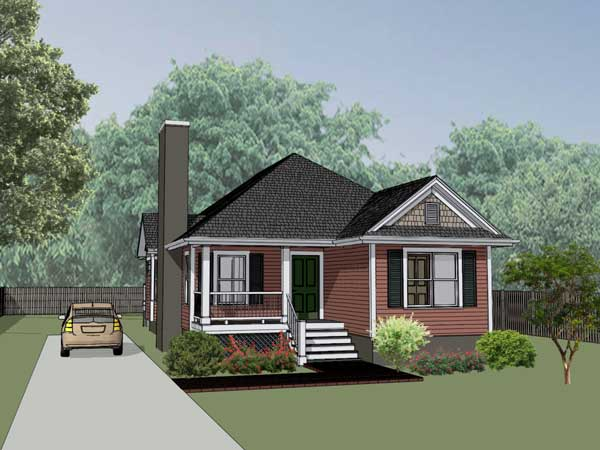 Country Style Home Design Plan: 16-135