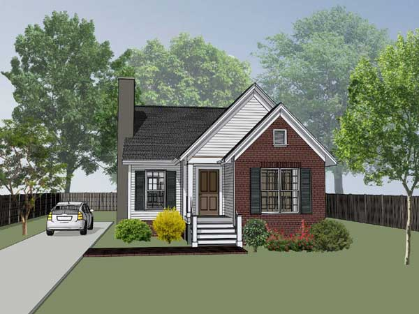 Traditional Style Home Design 16-136