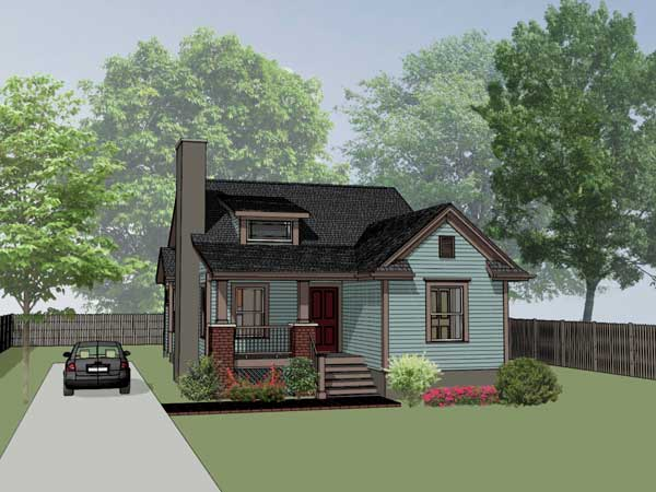 Craftsman Style House Plans Plan: 16-138