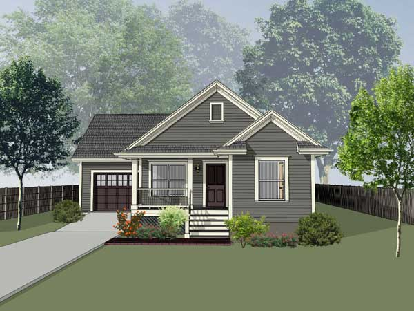 Traditional Style Home Design Plan: 16-149