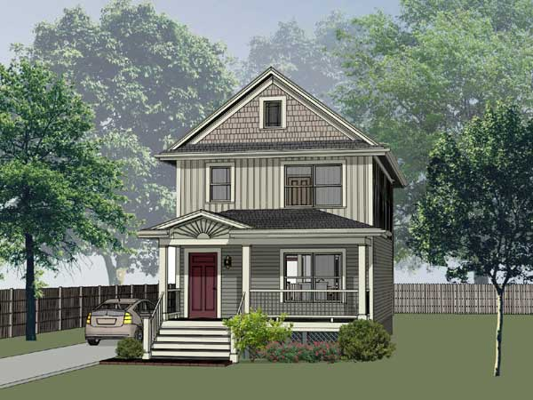 Southern Style Floor Plans Plan: 16-151